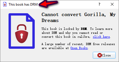 kindle books is drm-protected