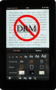 DRMed kindle fire books