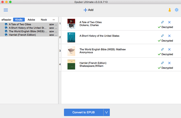 remove Kindle KFX DRM on Mac