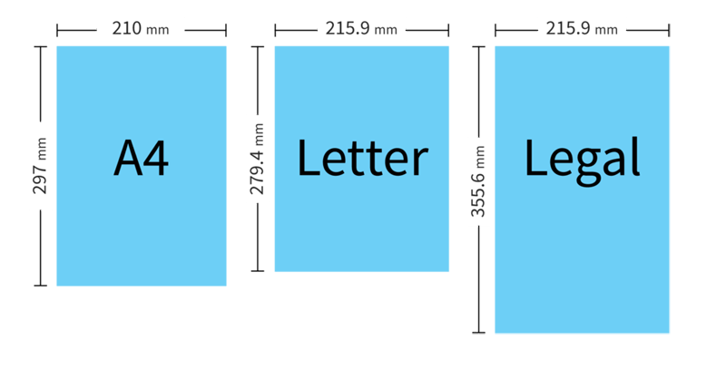 Letter Size Paper