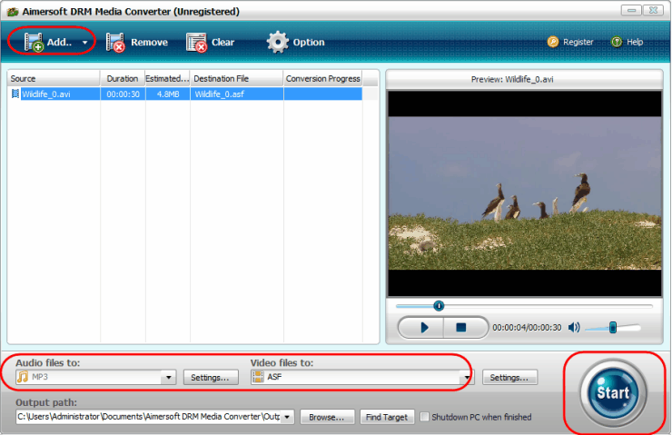 remove amazon video drm with aimersoft