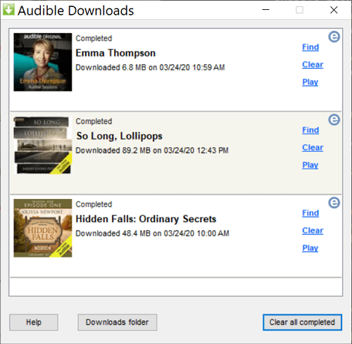 download audible adh to aa/aax format