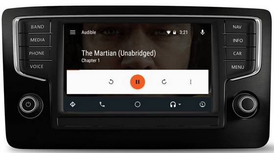 Audible for Anroid Auto