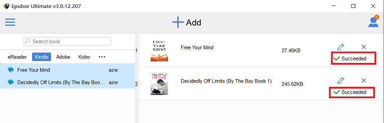 convert kindle books to format supported by ibooks