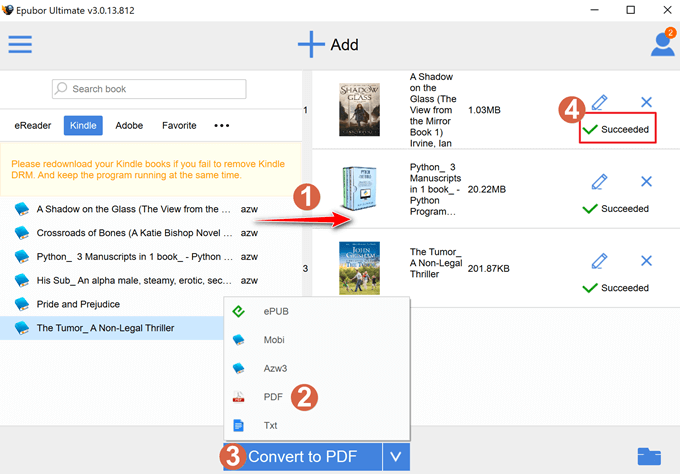 convert kindle to pdf 02