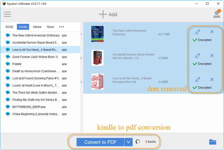 download kindle to pdf