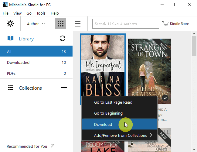 download kindle books to computer