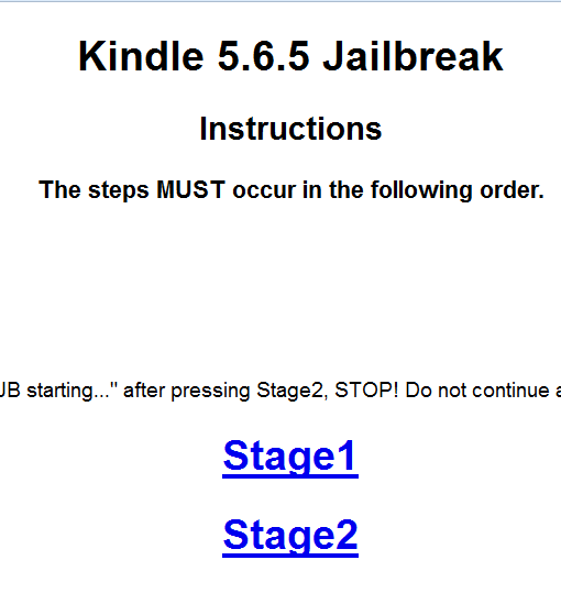 Jailbreak Kindle Paperwhite 5.6.5
