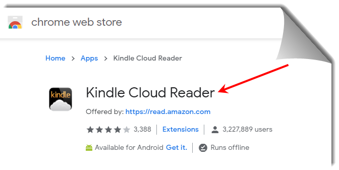 kindle cloud reader chrome extension