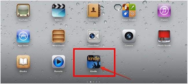 kindle app on ipad