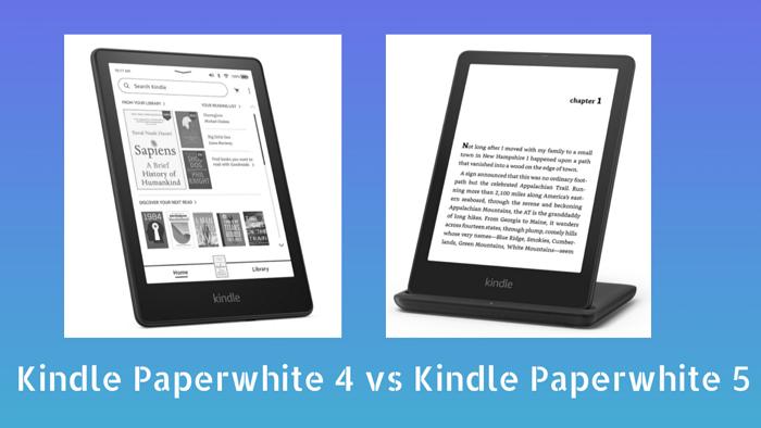 kindle paperwhite 4 vs 5