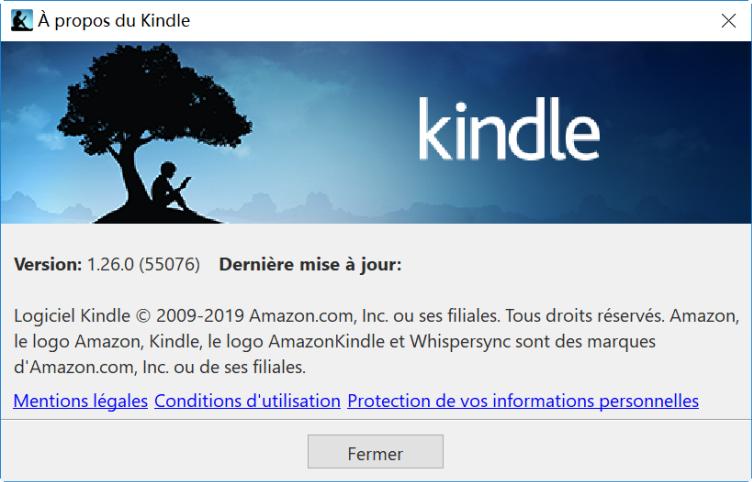 kindle pour pc version 1.26