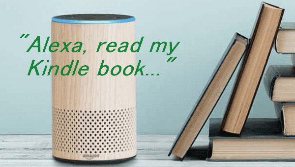listen to Kindle book with Alexa