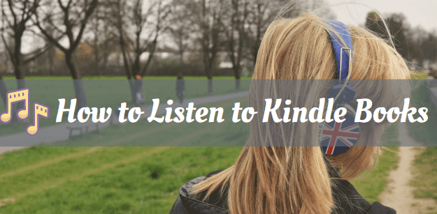 listen to Kindle books