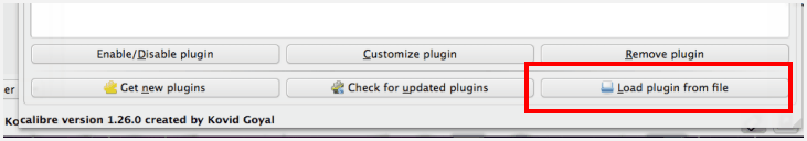 load plugin files on mac