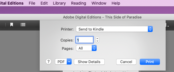 convert adobe digital editions to pdf free download