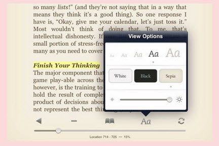 put kindle books to ipad
