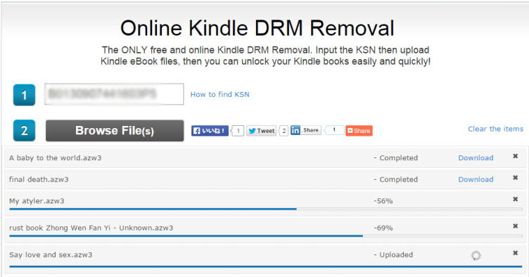remove drm from kindle books online