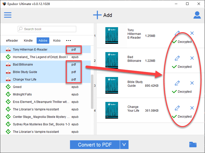 remove drm from PDF
