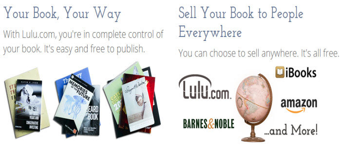 website to publish your own book